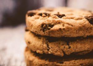 Trois cookies
